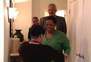 Separated by adoption Oprah Winfrey reunites with her half sister Patricia Lloyd