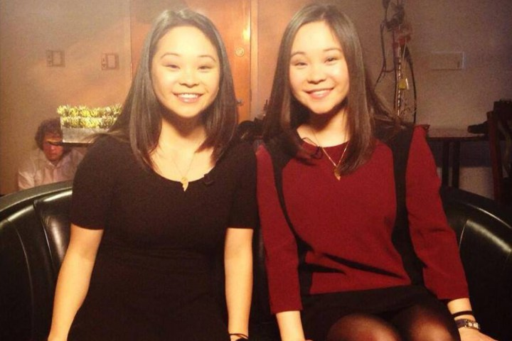 Twins separated at birth in South Korea but reunited 25 years later.